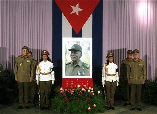 Cuba Obit Almeida Bosque