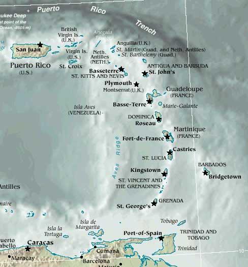 Caribbean Islands: Around The Corner: The 12th Annual Eastern Caribbean