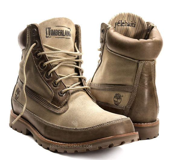 6210c8b75b8 Wyclef Jean x Timberland Earthkeepers Boots Coming November 2009 ...