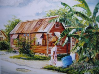 old-woman-chattle-house-mysterious-art-barbados