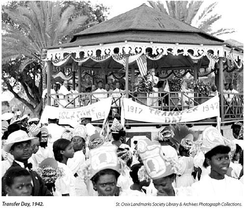 Transfer Day Virgin Islands History