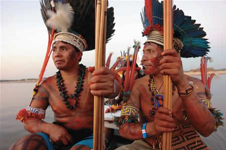 Suriname.Trio Amerindian the native inhabitants of ...   Arawak Indians Suriname South America