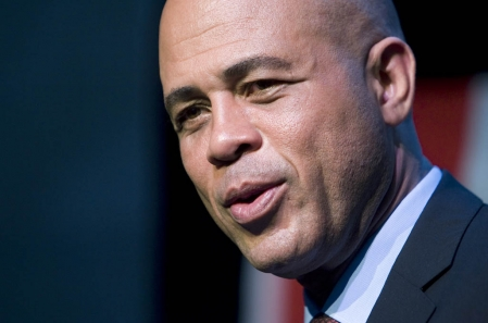Haiti Presidential Candidate Michel Martelly Supports ECCO2 Haiti Plan to a Cleaner and Greener Haiti | Repeating Islands - michel-martelly
