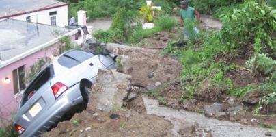 British Virgin Island Floods