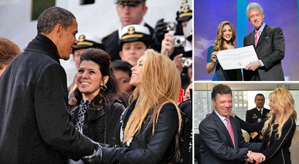 The Sunday Times featured Colombian singer and founder of the Barefoot Foundation [Pies Descalzos] Shakira, focusing on her wide range of activities