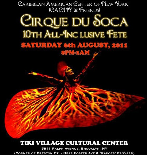 The Caribbean American Center of New York Hosts 10th Cirque