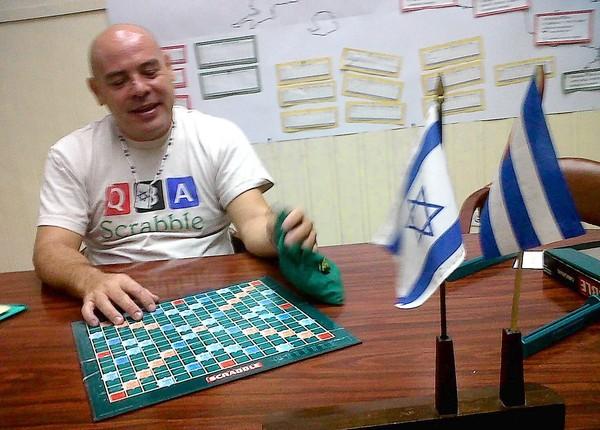 Scrabble in Cuba