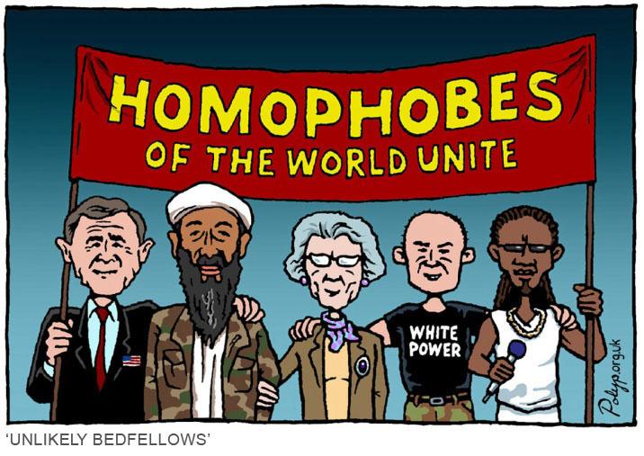 including homophobia