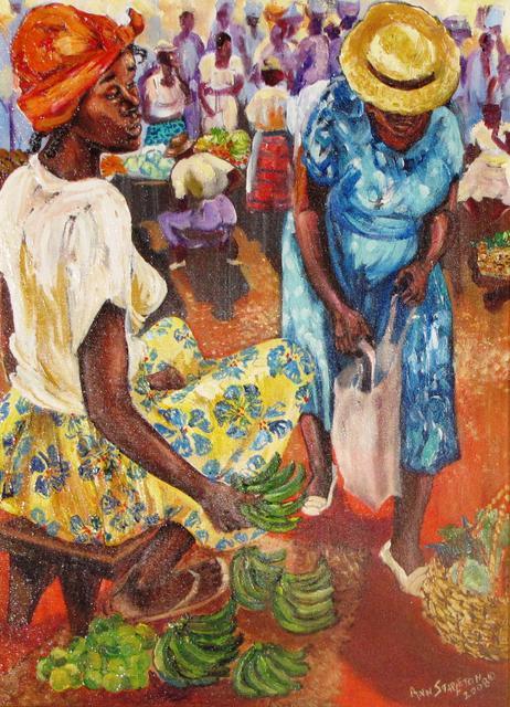 art trini_Green Fig 2_Ann Stapleton