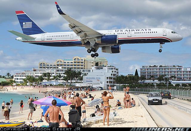Airports In St Maarten Island