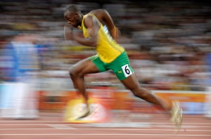 Beijing Olympics Athletics Mens 200M
