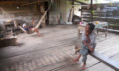 Home in Nairi Awairi, a Bribri village