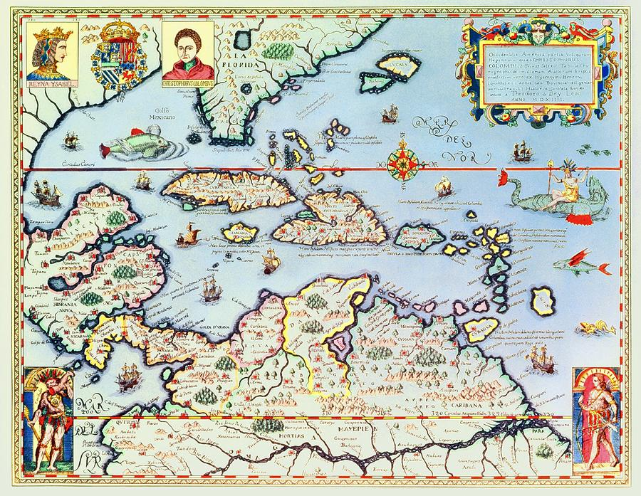 map-of-the-caribbean-islands-and-the-american-state-of-florida-theodore-de-bry