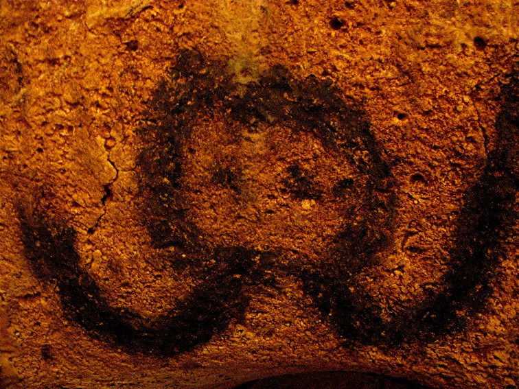 Taino Indian Cave Painting