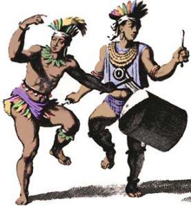 Arawak-Carib-Dancers-History-of-Trinidad