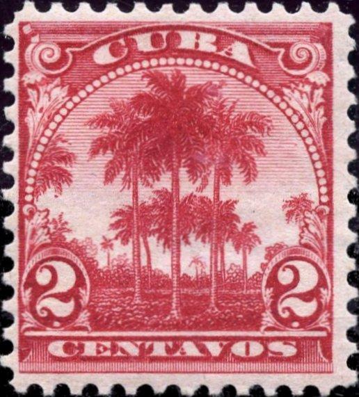 1899-Cuba-2-Centavos-Stamp