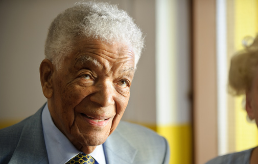 Earl Cameron is one of the Community Heroes being honoured on Sunday.