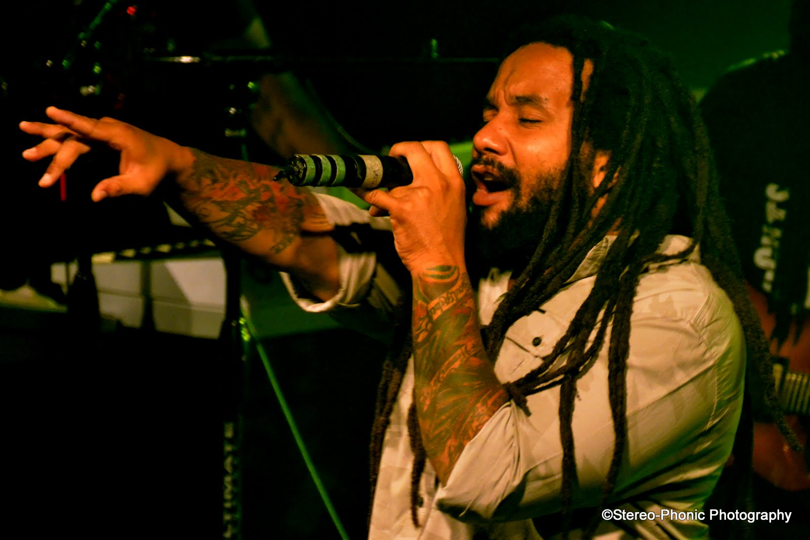 Feeling stressed? Well, Ky-Mani Marley has a drink for you ...