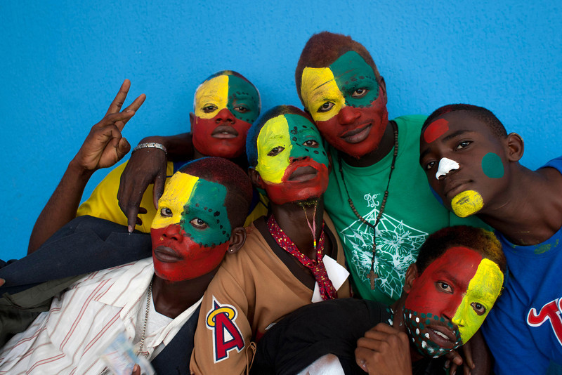 APTOPIX Haiti Carnival Photo Gallery