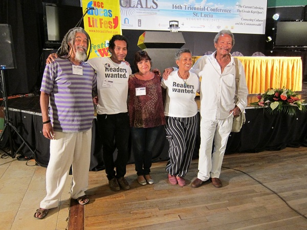 bocas 2 writers at aclals st lucia