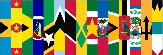 CARICOM-CARIFESTA-Flags