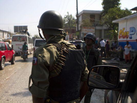 AP-Haiti-Army