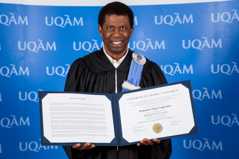 Dany Laferriere-doctorat-honoris