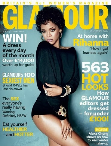 Rihanna Glamour-January14_cover