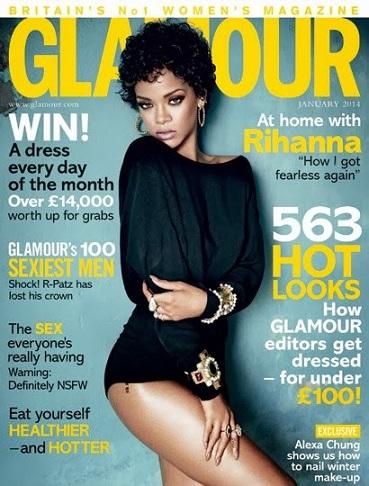 Rihanna Glamour-January14_cover