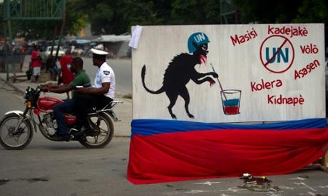 APTOPIX Haiti Uruguay UN Investigation