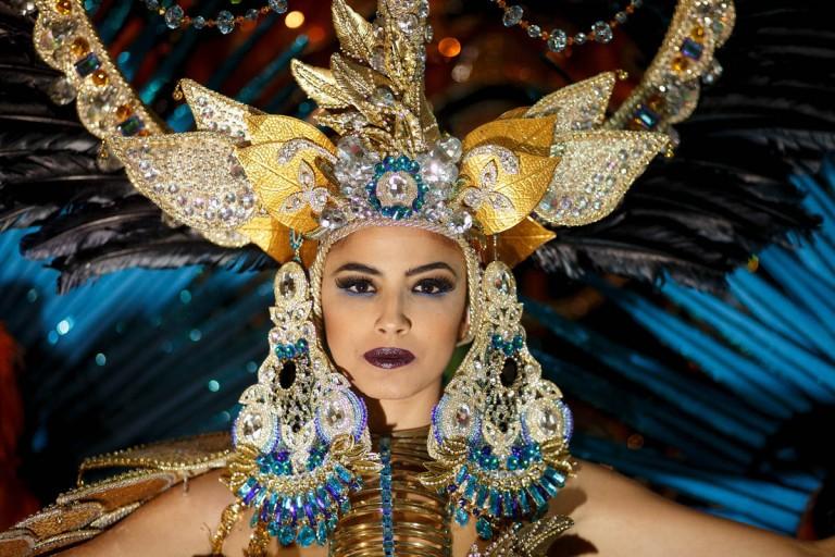 Carnival Queen Election Gala in Santa Cruz de Tenerife