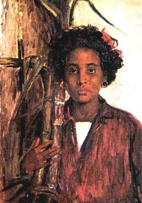 Leopoldo-Romañach-La-niña-de-las-cañas