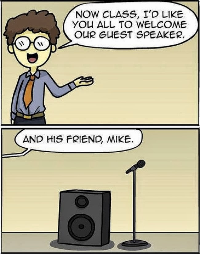 mike-guest-speaker-pun-cartoon