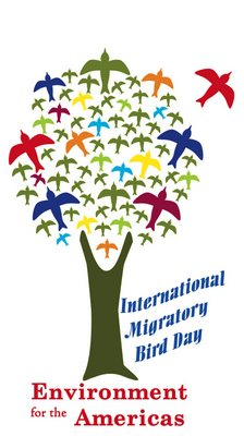 International migratory bird day IMBD EA logo at potter park zoo be a tourist in your own town