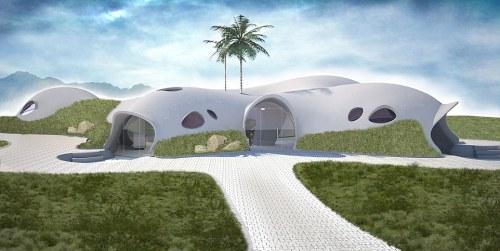 Binishells: inflatable, dome-shaped concrete homes - 01 Aug 2014