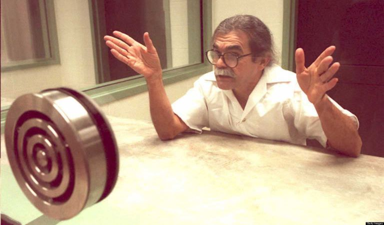 Oscar Lopez, an inmate at the new super-maximum-se