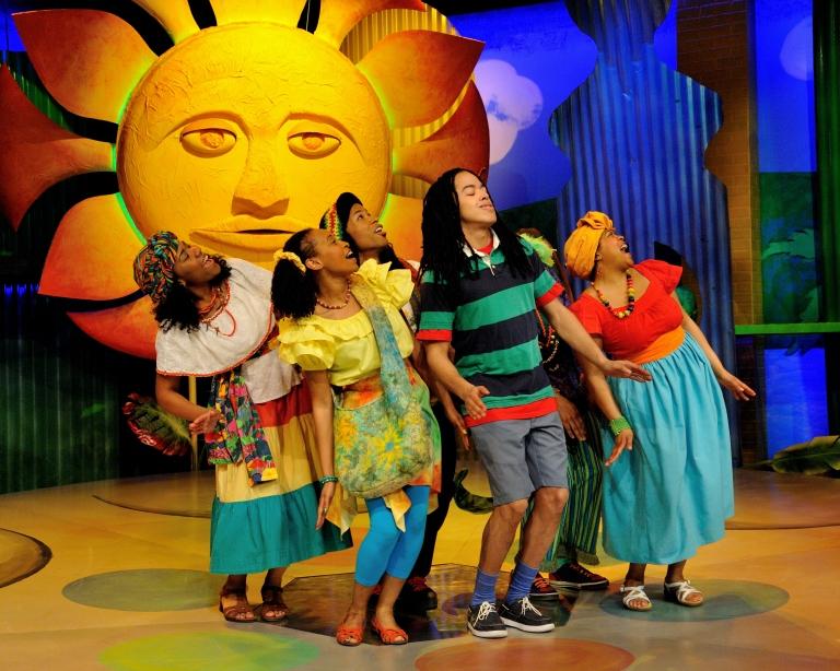 reggae children�s musical three little birds to open san