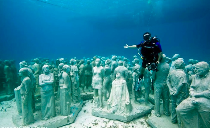 The Underwater Museum Another Great Reason To Visit