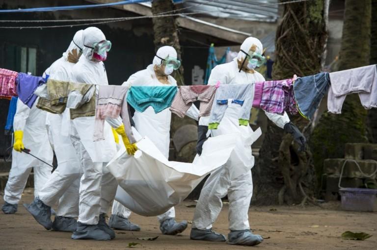 Michel du Cille Ebola