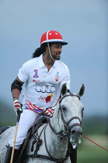 Claude-Alix Bertrand, Captain, Haiti Polo Team