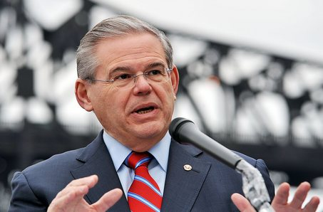 Image result for Senator Bob Menendez