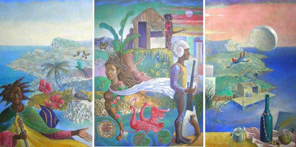 Colin_Garland_In_the_Beautiful_Caribbean_1974_NationalGalleryofJamaica