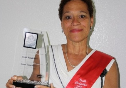 Enith Brigitha_Hall of Fame
