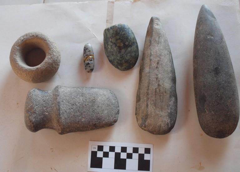 Stone artifacts (2)