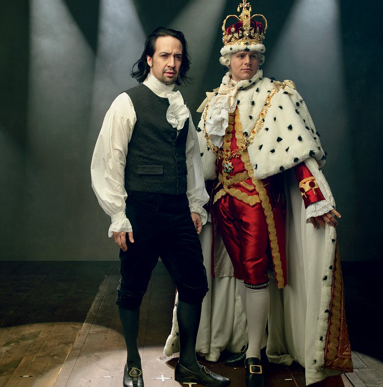 a report on lin manuel mirandas hamilton a broadway hit musical Lin-manuel miranda (/ l  ego check as hamilton became a hit  role after leaving the broadway cast of hamilton, miranda traveled to london in 2017 to film .