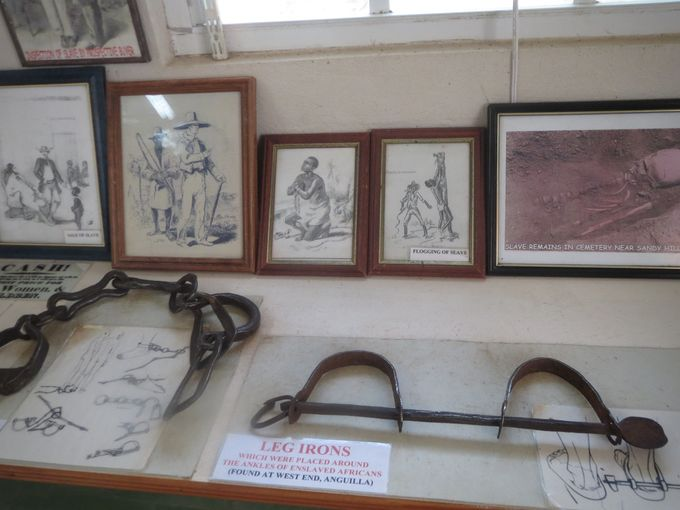 Anguilla-Heritage-Collection-Museum-slavery-leg-irons-credit-Melanie-Reffes