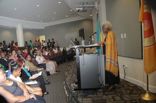 Erna-Brodber-Addresses-COB-Audience-at-Special-Lecture-Series