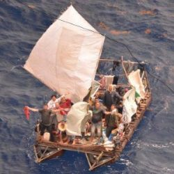 Cubans-signal-for-help-from-a-sinking-raft-10-June-2015-250