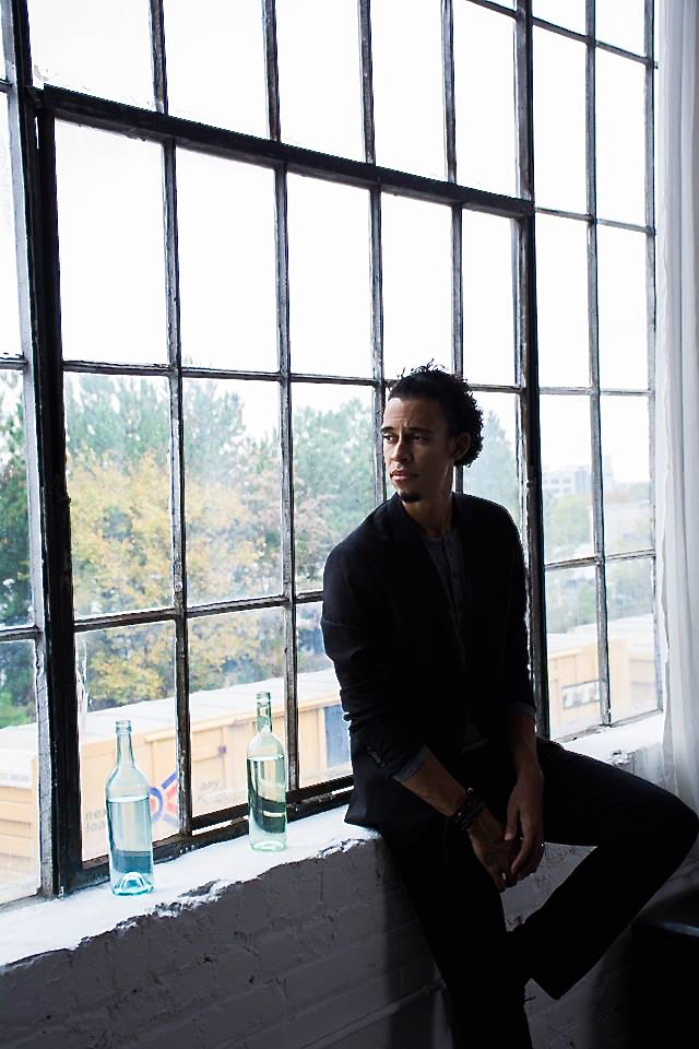 Cooper Penn photographed in Atlanta by his wife Nita Penn