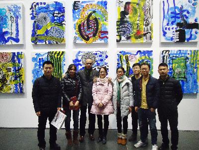 Jamaican-Artist-Peter-Wayne-Lewis-in-Beijing